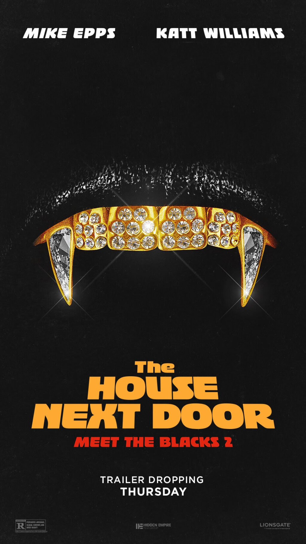 The House Next Door Poster 1024x1820 - New Poster Suggests MEET THE BLACKS 2 Will Have a Vampiric Twist