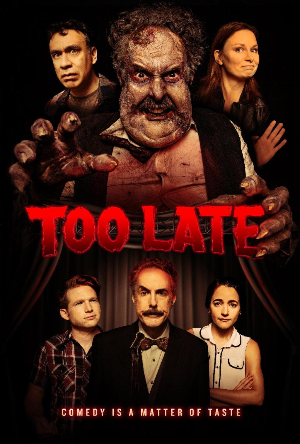 """Too Late Poster 1024x1512 - """"Dissecting Horror"""" Continues TODAY with a New Episode Featuring the Creatives of TOO LATE"""