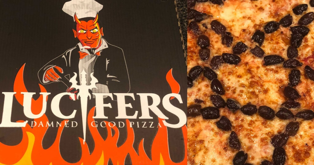 luciferspizza 1024x538 - Mysterious Delivery From Lucifer's Damned Good Pizza, Who's The Summoner?