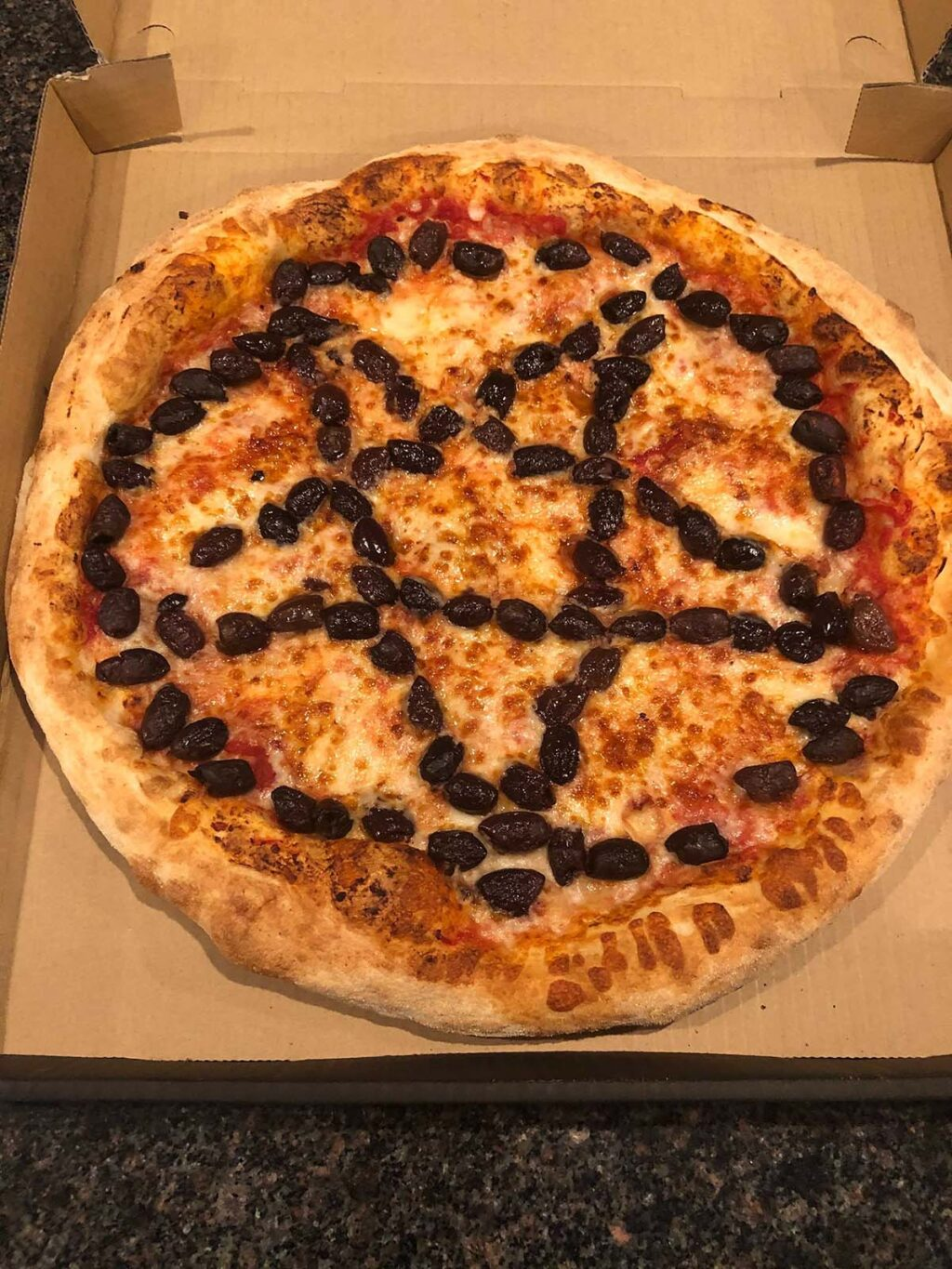 luciferspizza1 1024x1365 - Mysterious Delivery From Lucifer's Damned Good Pizza, Who's The Summoner?