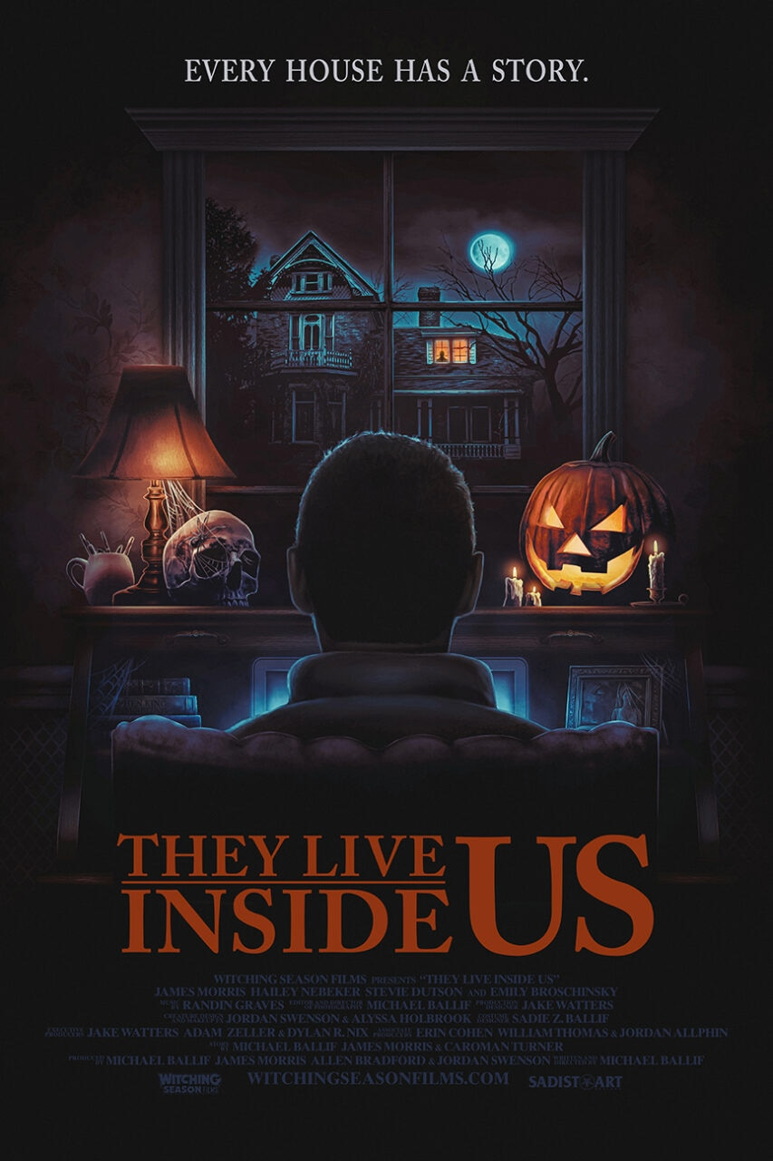 they live inside us poster scaled - FilmQuest 2021: They Live Inside Us REVIEW - Great, if Spotty Loveletter to Horror