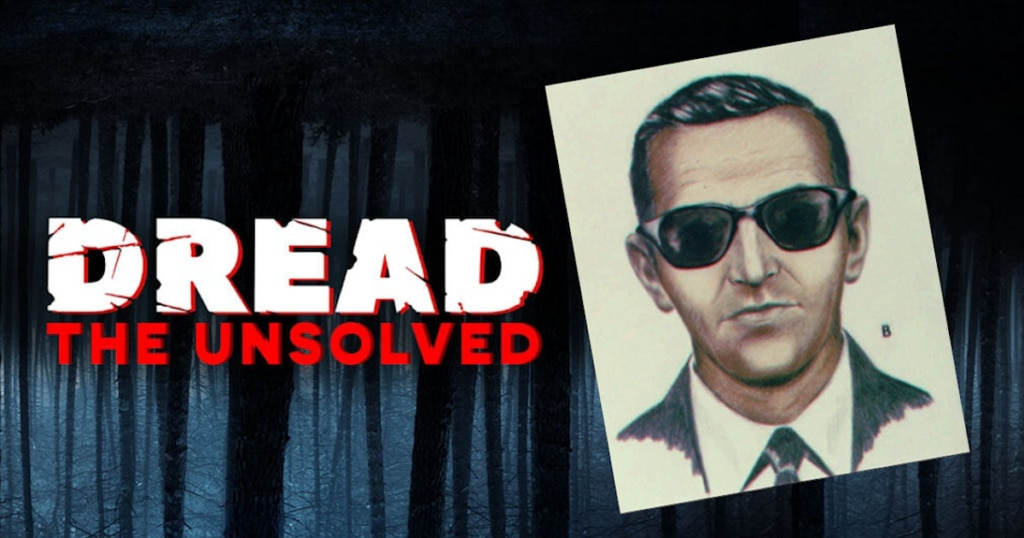DREAD THE UNSOLVED DB Cooper 1024x538 - DREAD: THE UNSOLVED Takes on the One and Only D.B. Cooper