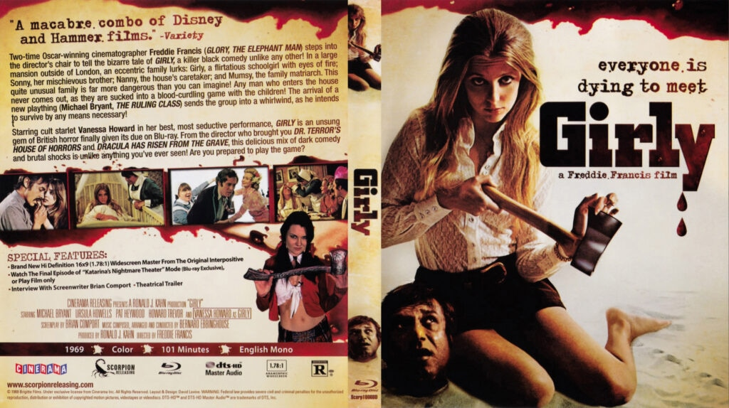 Mumsy  Nanny  Sonny   Girly  1970  Blu ray Cover 1024x574 - Exclusive: Preston Fassel on Grindhouse Cinema and his New Novel THE DESPICABLE FANTASIES OF QUENTIN SERGENOV