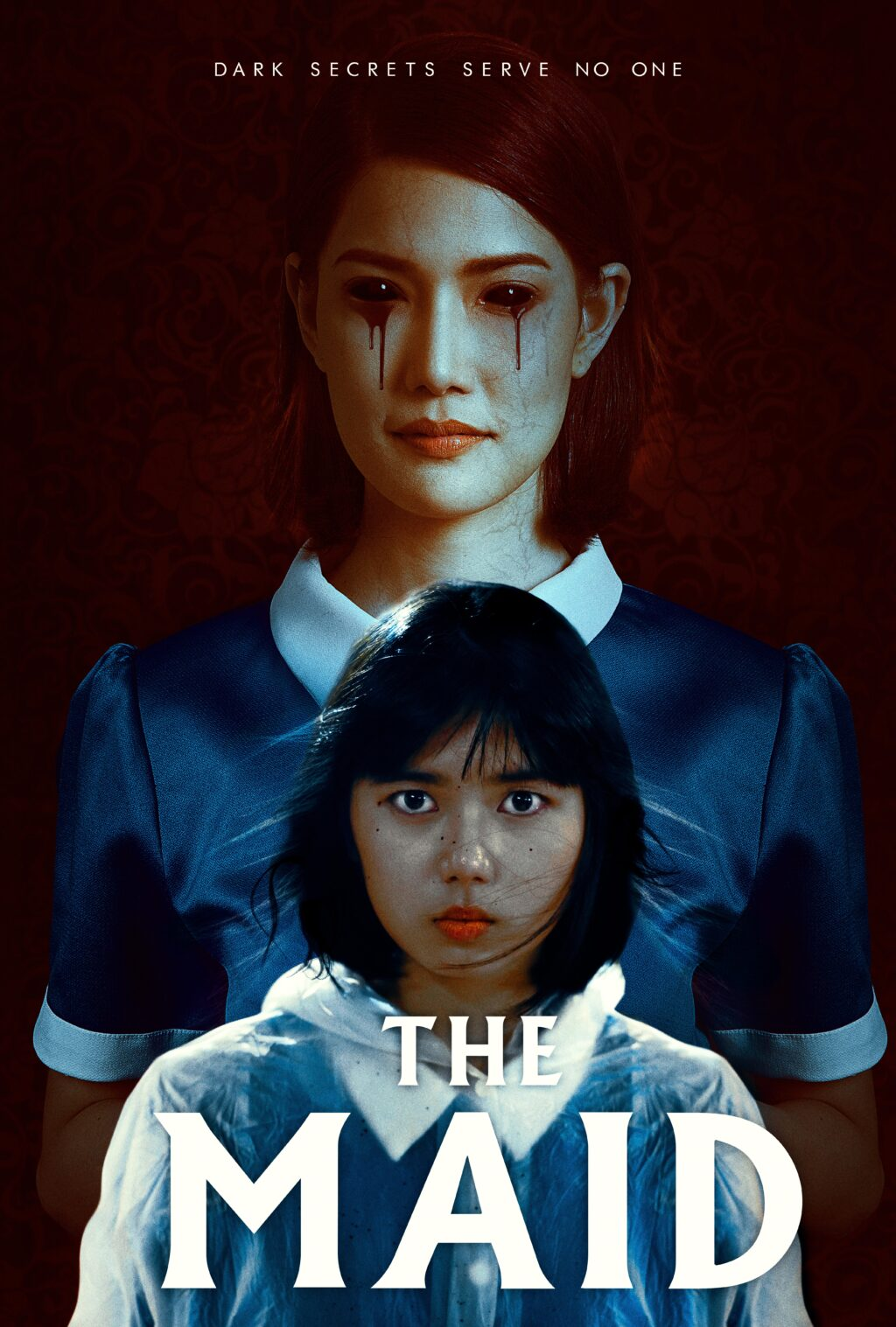 The Maid Red FINAL 2021 1024x1517 - Exclusive: Watch 2 New Terrifying Clips from THE MAID Now Streaming!