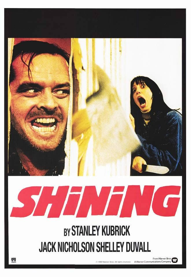 """The Shining Poster - THE SHINING Trivia: No One Knows Who Played """"Roger the Dog Man"""" in Kubrick's Film"""