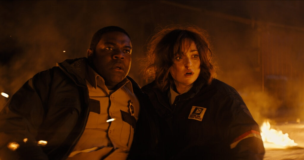 WEREWOLVES WITHIN Still 7 1024x540 - Tribeca 2021: WEREWOLVES WITHIN Review - One Howl of a Movie