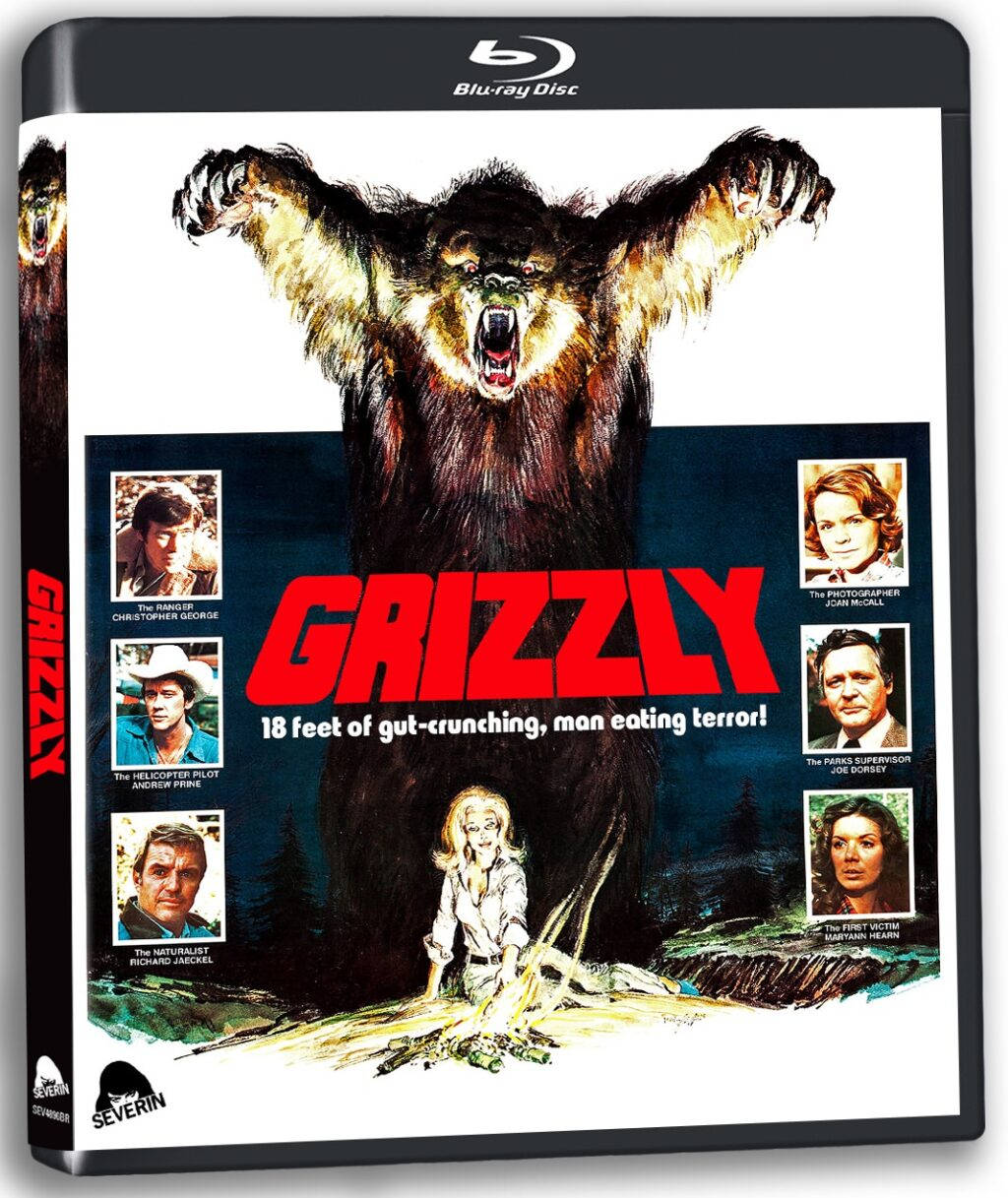 grizzly blu 2 1024x1217 1 - GRIZZLY Blu-ray Review - Just When You Thought It Was Safe To Go Camping