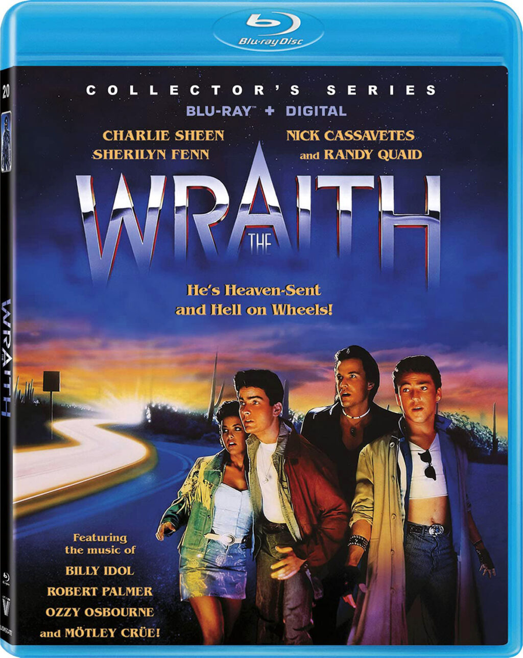 he Wraith Blu ray 1024x1288 - THE WRAITH with Charlie Sheen Hits on Blu-ray on July 20th