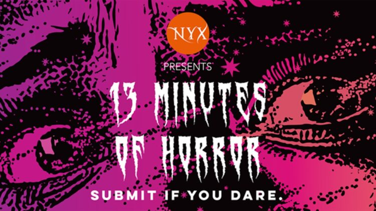 13 minutes of horror banner 1 750x422 - Nyx Horror LLC Launches Inaugural Film Fest 13 MINUTES OF HORROR on Shudder