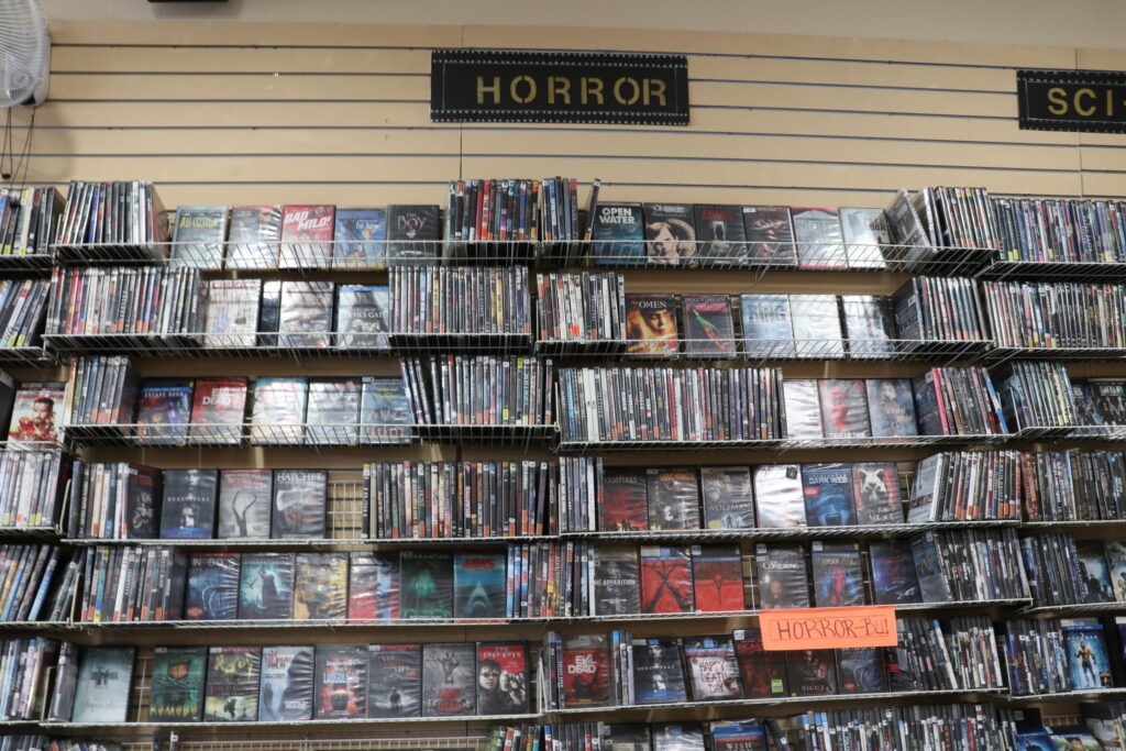 Alex Video horror section 1024x683 - The 5 Best Mom-and-Pop Video Stores in Los Angeles