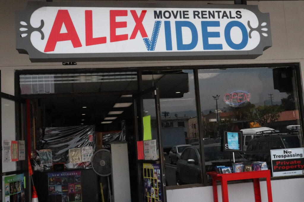 Alex Video storefront 1024x683 - The 5 Best Mom-and-Pop Video Stores in Los Angeles