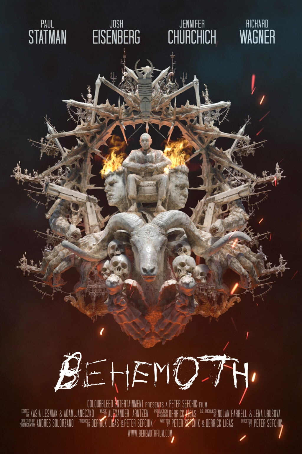 Behemoth 1024x1536 - Monsters and Demons Abound in the Trailer and Poster for BEHEMOTH