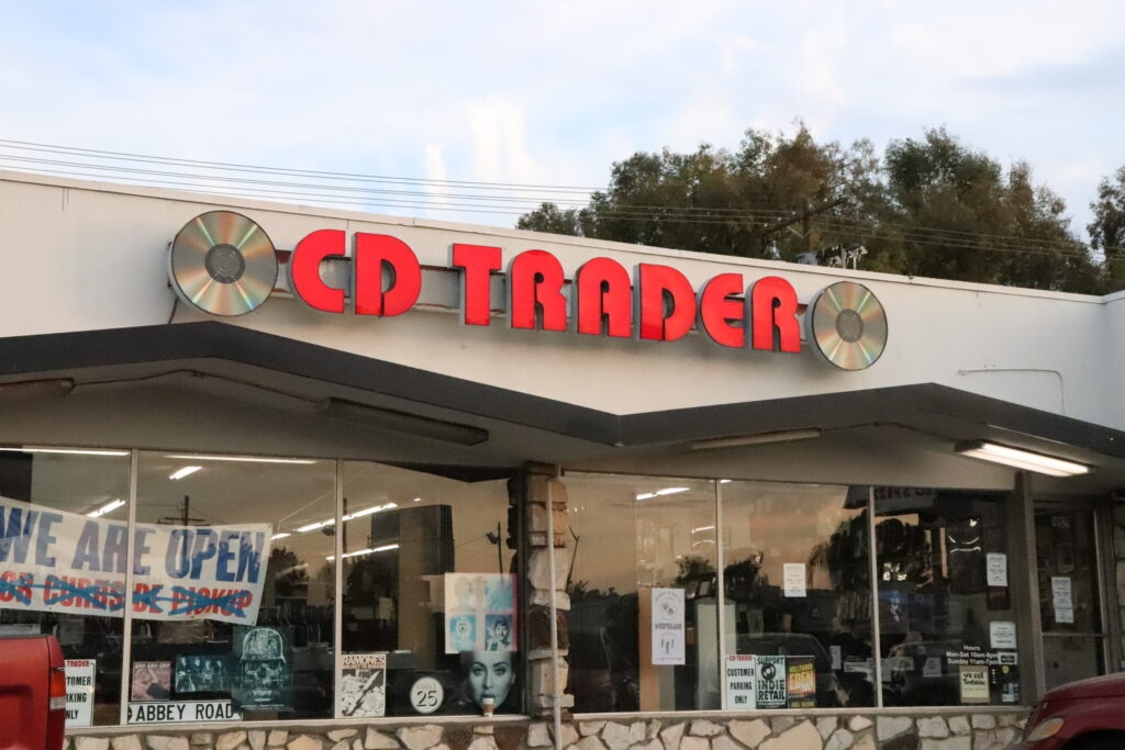 CD Trader storefront 1024x683 - The 5 Best Mom-and-Pop Video Stores in Los Angeles