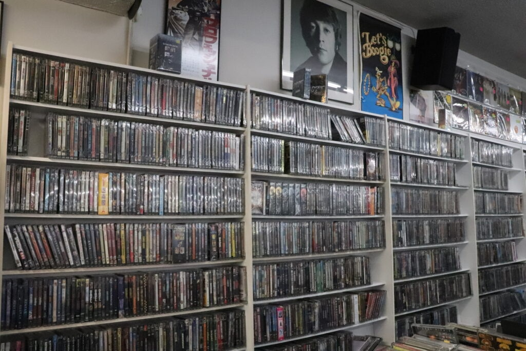 CD Trader titles 1024x683 - The 5 Best Mom-and-Pop Video Stores in Los Angeles