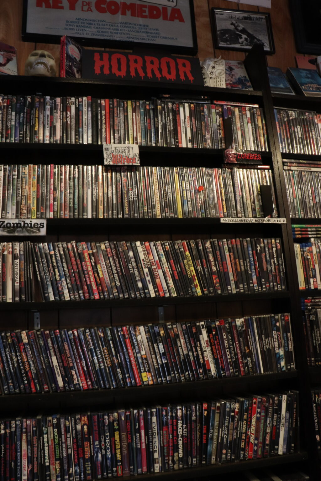 Cinefile part of horror section 1024x1536 - The 5 Best Mom-and-Pop Video Stores in Los Angeles