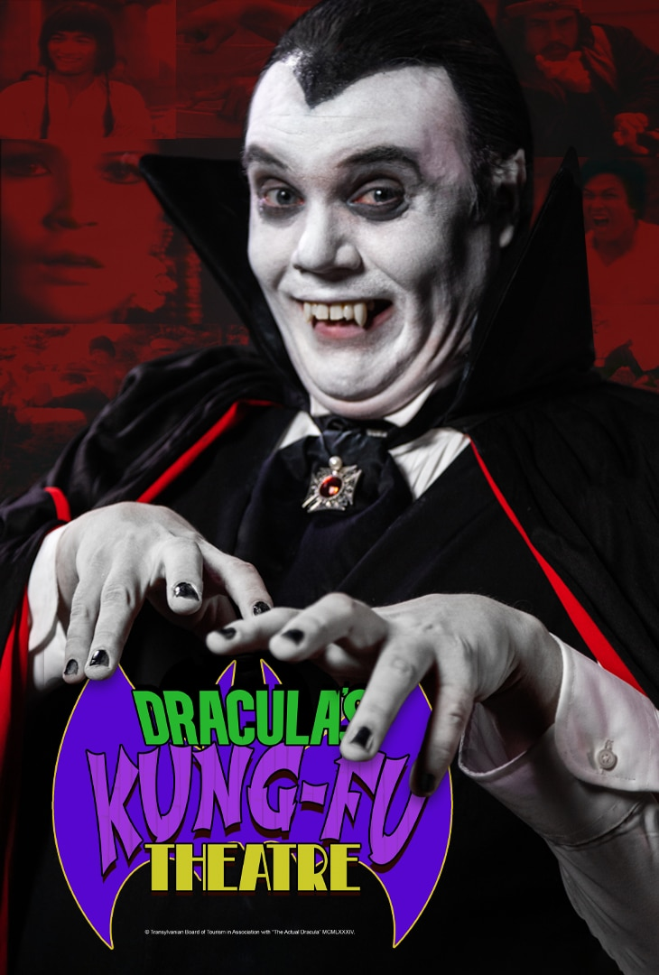 DracMoviePoster IMDB - New Series DRACULA'S KUNG FU THEATRE Launches in August on Friday the 13th