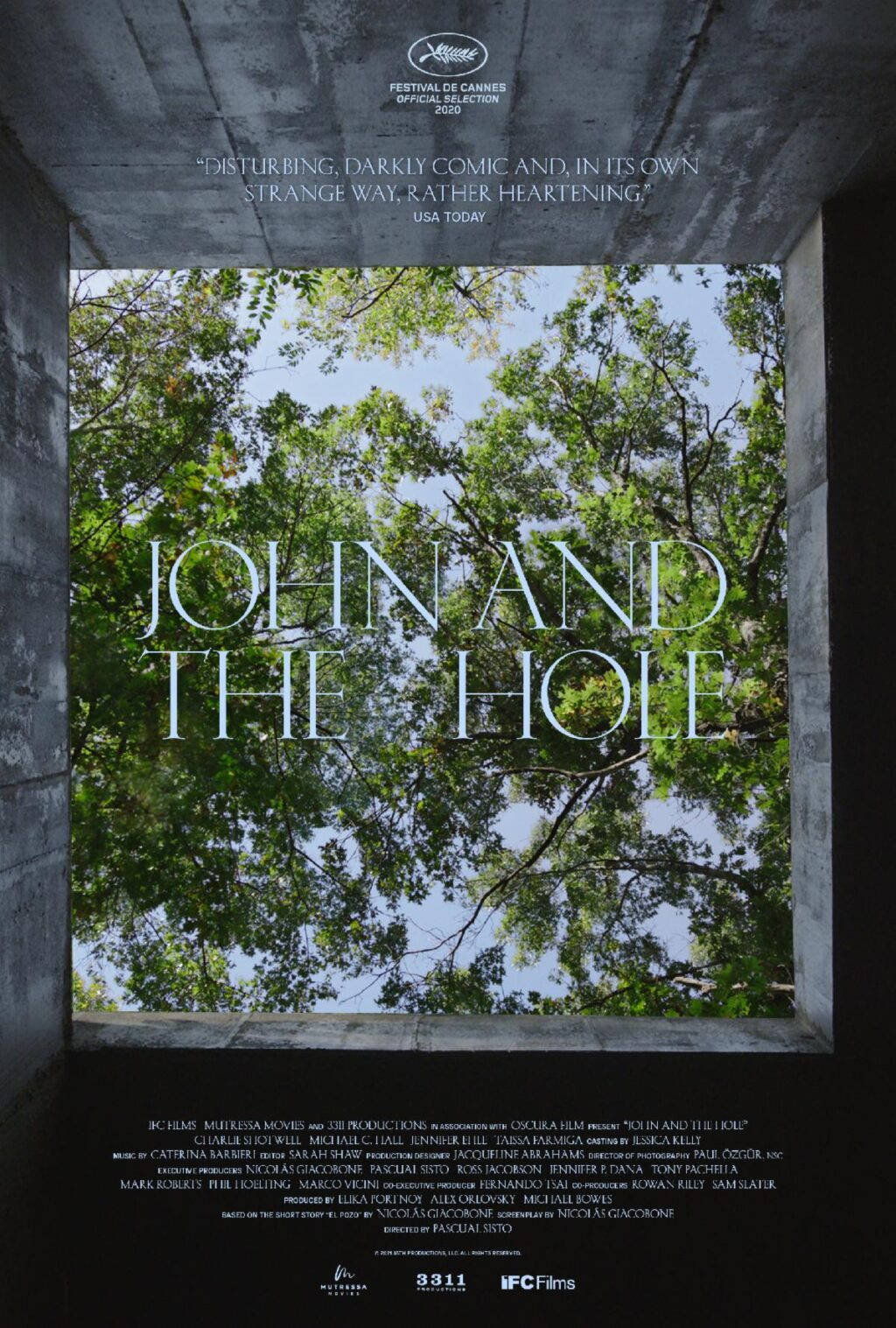John and the Hole Poster 1024x1517 - WATCH: JOHN AND THE HOLE Debuts Chilling First Trailer