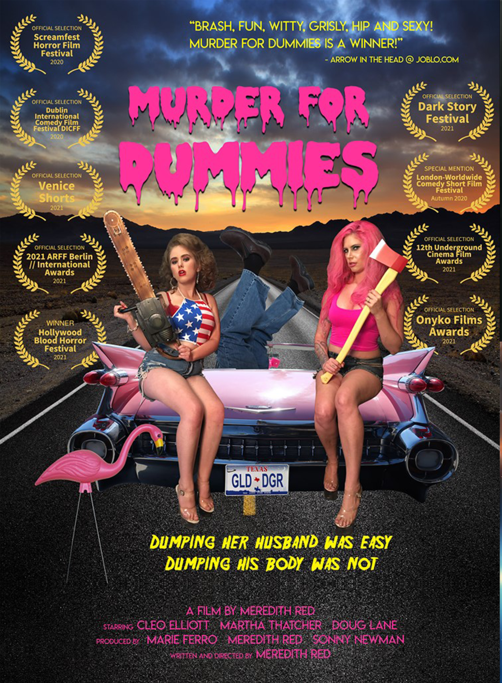 MURDER FOR DUMMIES poster 1024x1394 - MURDER FOR DUMMIES: Bonus Short Added to Free FAKING A MURDERER Los Angeles Premiere on August 3rd
