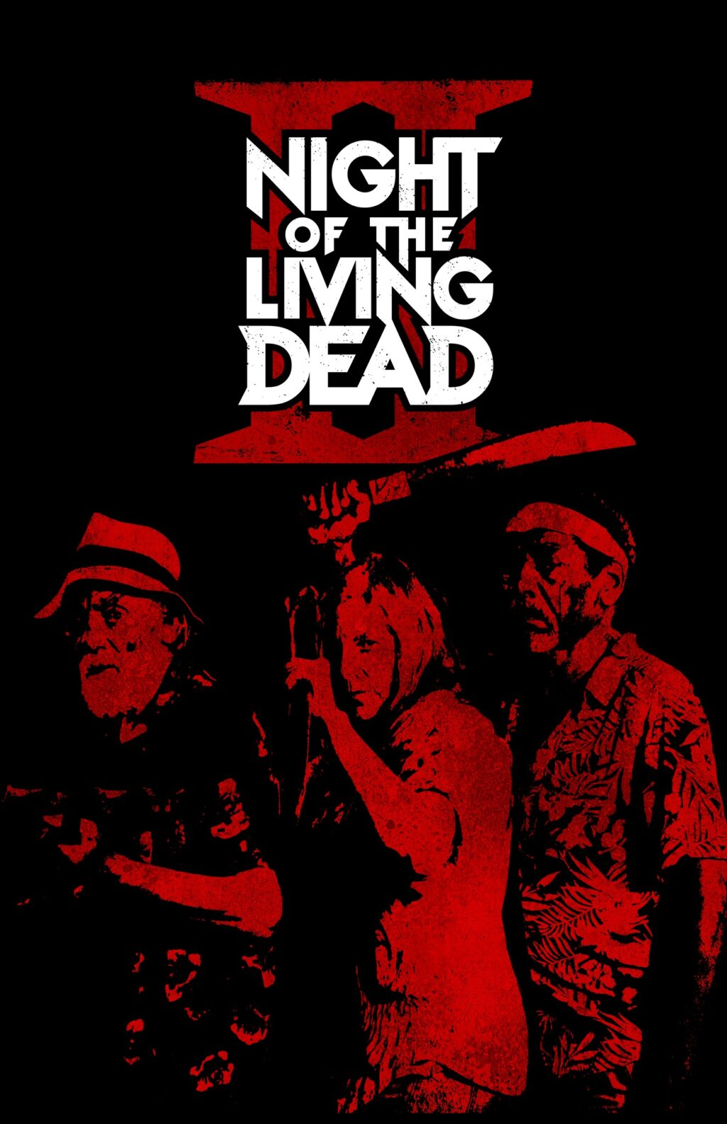 Night of the Living Dead II Poster 1024x1583 - David Howard Thornton is a Zombie in NIGHT OF THE LIVING DEAD II