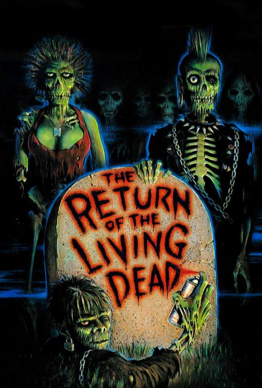 The Return of the Living Dead - Double That Feature #3: THE RETURN OF THE LIVING DEAD