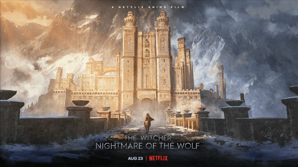 The Witcher Nightmare of the Wolf key art banner - TRAILER: Watch The Latest Teaser for Netflix's THE WITCHER: NIGHTMARE OF THE WOLF
