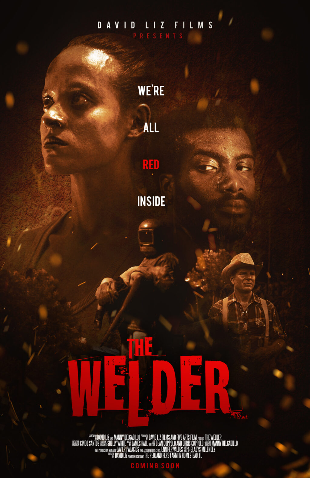 """TheWelderPoster 1024x1578 - Exclusive: Poster and """"First Look"""" Images for THE WELDER World Premiering at Popcorn Frights"""