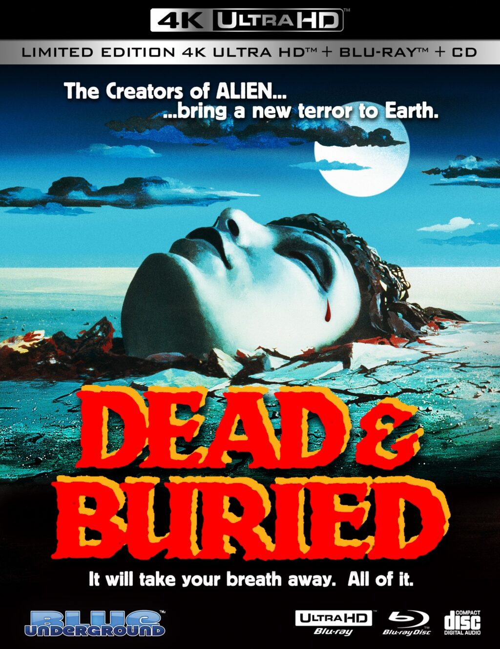 dead and buried 4k 1024x1330 - DEAD & BURIED 4K Review - Blue Underground Unearths Underrated Slow-Burn Horror