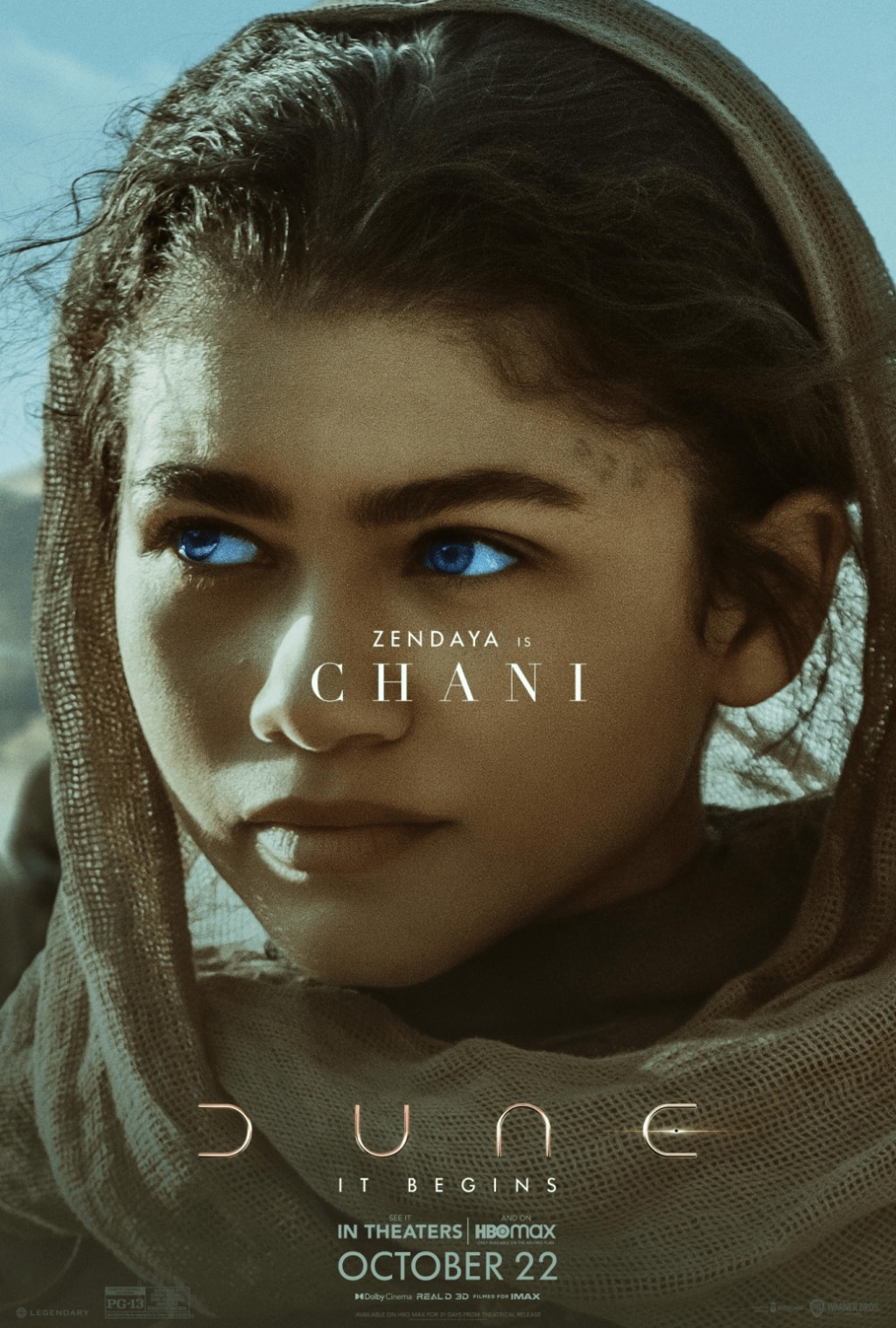dune poster 1 1024x1517 - Check Out This Stunning Set of Character Posters for DUNE