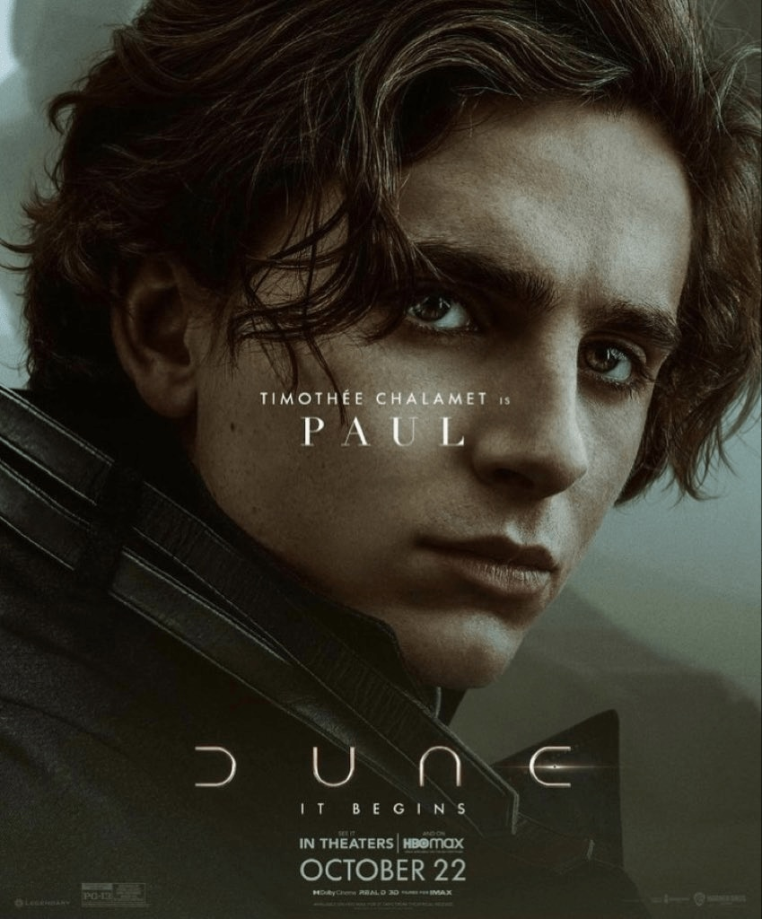 dune poster 7 - Check Out This Stunning Set of Character Posters for DUNE