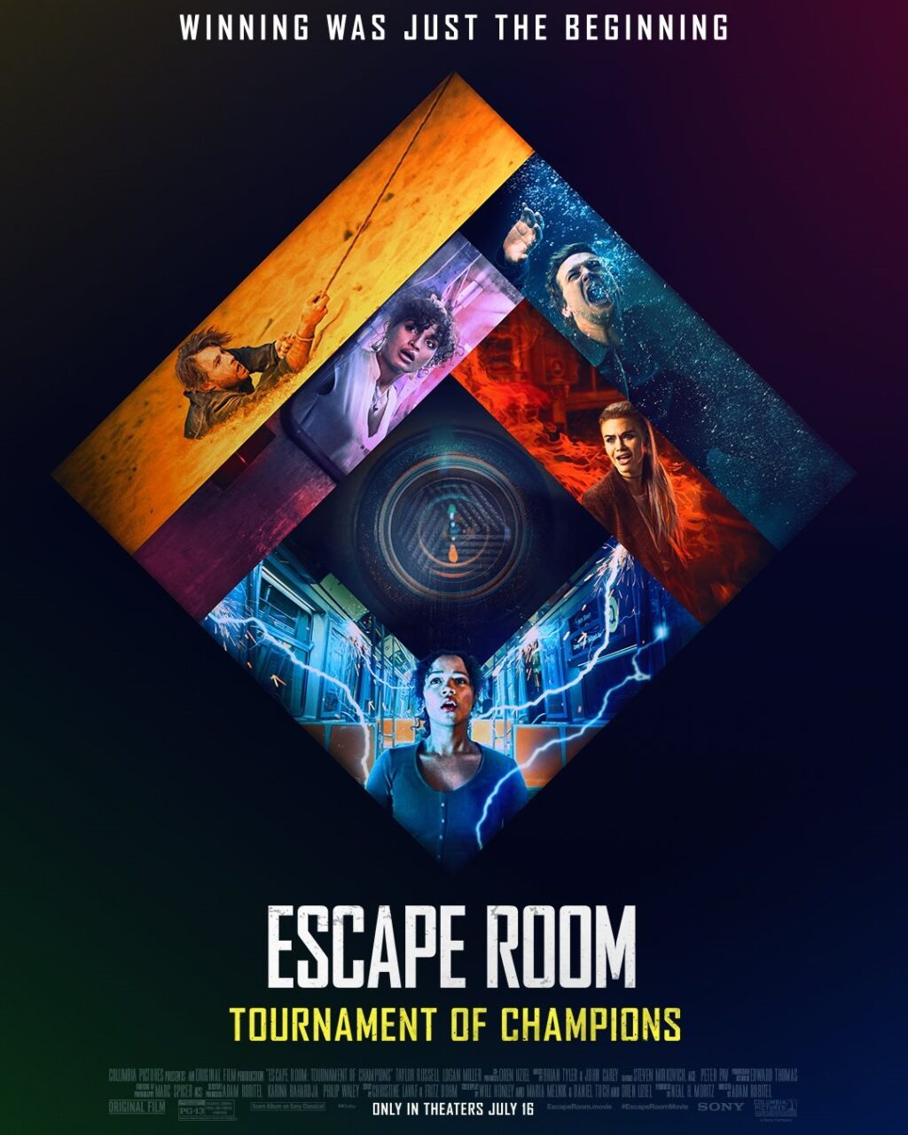 escape room 2 poster 1024x1280 - ESCAPE ROOM: TOURNAMENT OF CHAMPIONS Review - More Mysterious Than the Original