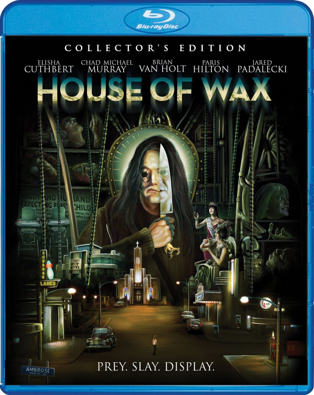 house of wax blu 1024x1287 - HOUSE OF WAX Blu-ray Review - Dip Into Scream Factory's Latest Upgrade