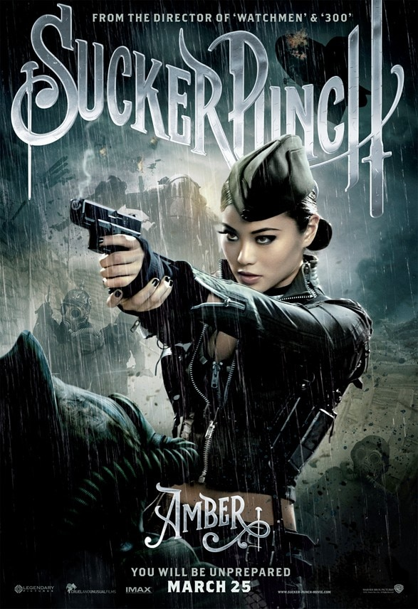 """sucker punch jamie chung poster - """"We Shot the Hell out of That Movie"""" Jamie Chung Talks SUCKER PUNCH"""