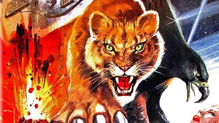 Day of the Animals banner 750x422 - DAY OF THE ANIMALS Blu-ray Review - See Leslie Nielsen Fight a Bear