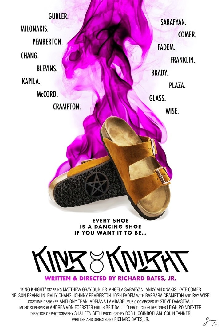 King Knight Poster - Fantasia 2021: Interview – Richard Bates, Jr. Talks Witches in Charming Horror Comedy KING KNIGHT