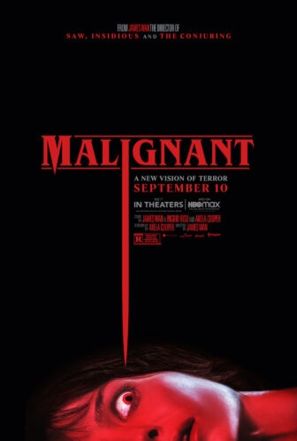 MALIGNANT   TW FB 336x498 - 'Malignant' Review: James Wan's Goriest, Most Audacious Romp is the Best Horror Movie of 2021 So Far