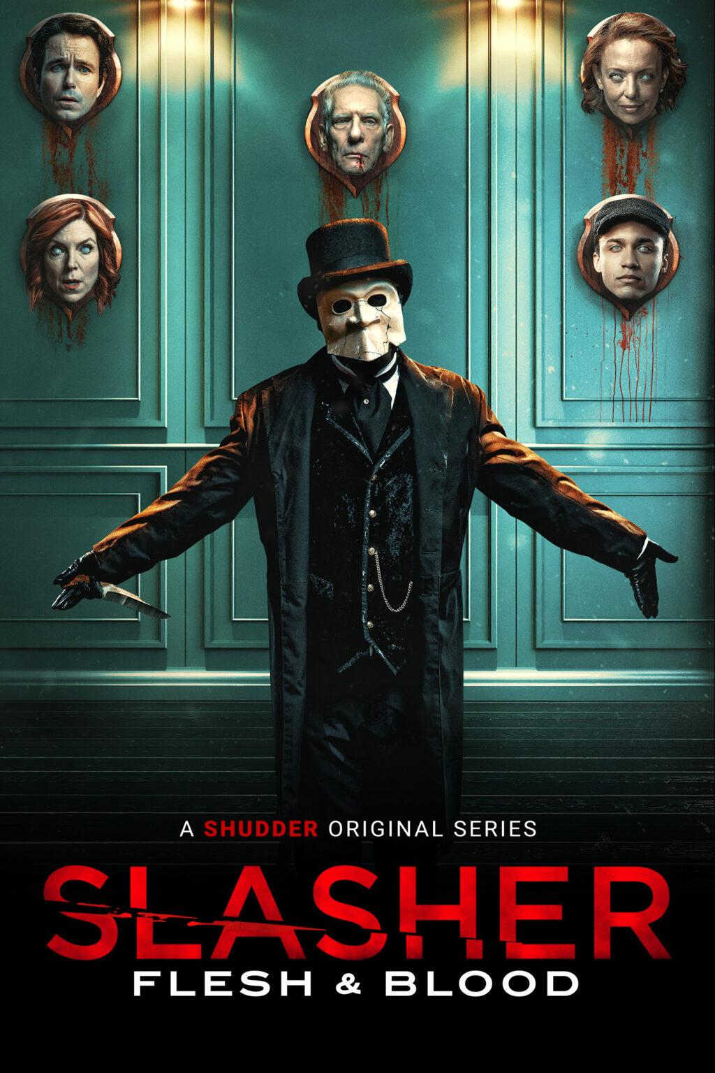 Slasher Key Art V2 Poster 1024x1536 - Exclusive Interview: David Cronenberg Talks SLASHER: FLESH AND BLOOD