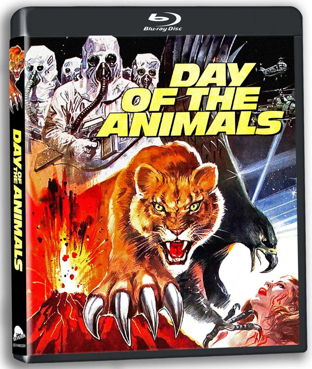 day of the animals blu 1024x1211 - DAY OF THE ANIMALS Blu-ray Review - See Leslie Nielsen Fight a Bear