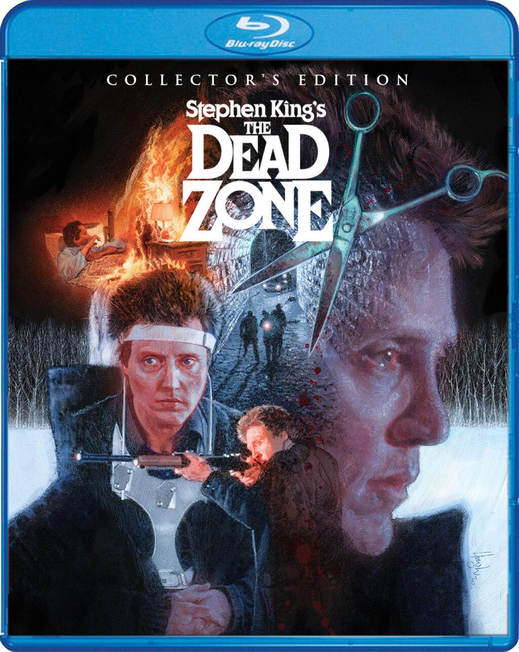zone morte blu 1024x1287 - Blu-ray review THE DEAD ZONE: Cronenberg and Walken Do Stephen King's Work Justice