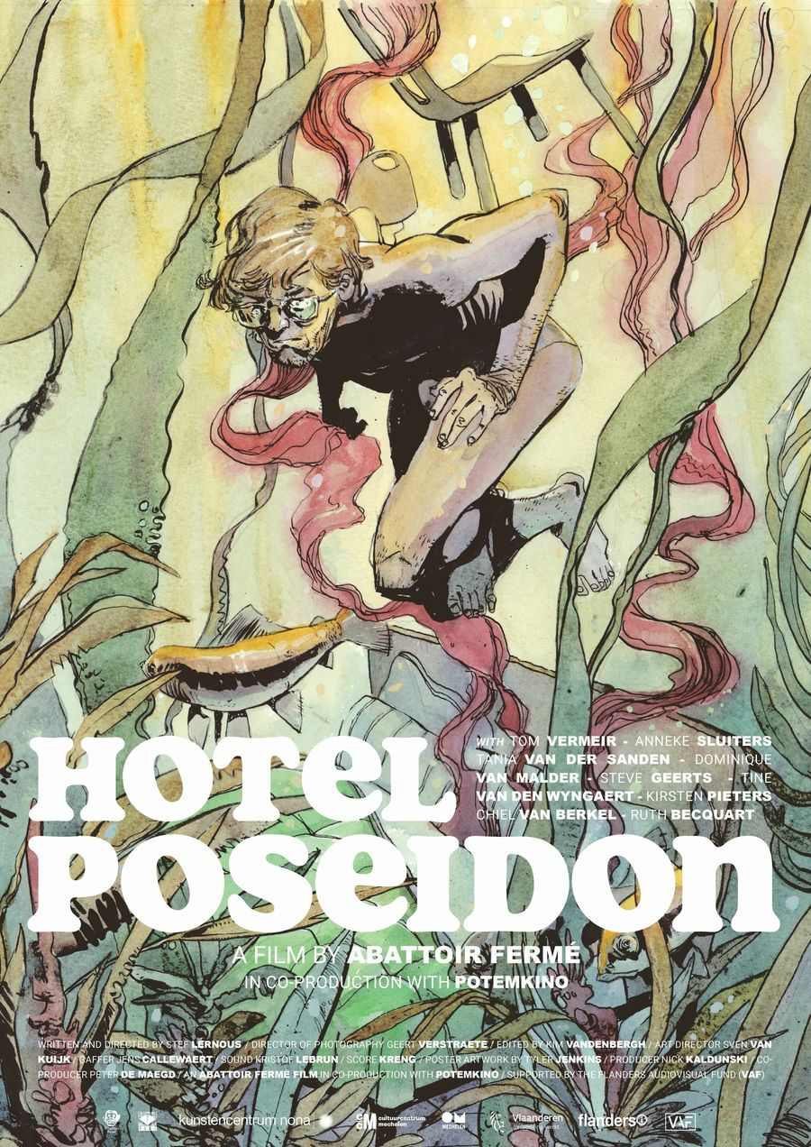 hotel poseidon poster a2 english c tyler jenkins 30017 df8586bb4c14d18f77324f7452f392cd - Fantasia 2021: HOTEL POSEIDON Review - You Can Check In But You Can't Check Out
