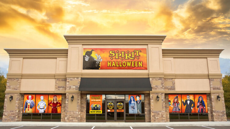 "spirit halloween store image 750x422 - Spirit Halloween Now Announces Dream Job Contest for ""Chief Spirit Officer"""