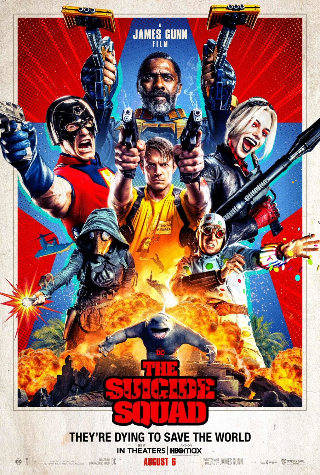 the suicide squad poster image 1024x1517 - THE SUICIDE SQUAD Review - James Gunn Delivers An Instant DCEU Classic