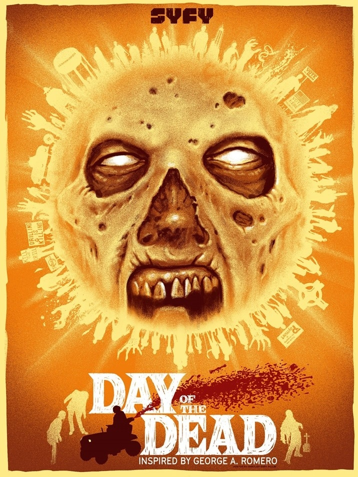 """Day of the Dead Gary Pullin Poster - 'Day of the Dead': """"Ghoulish"""" Gary Pullin Designs Killer New Poster for SYFY's New Series"""