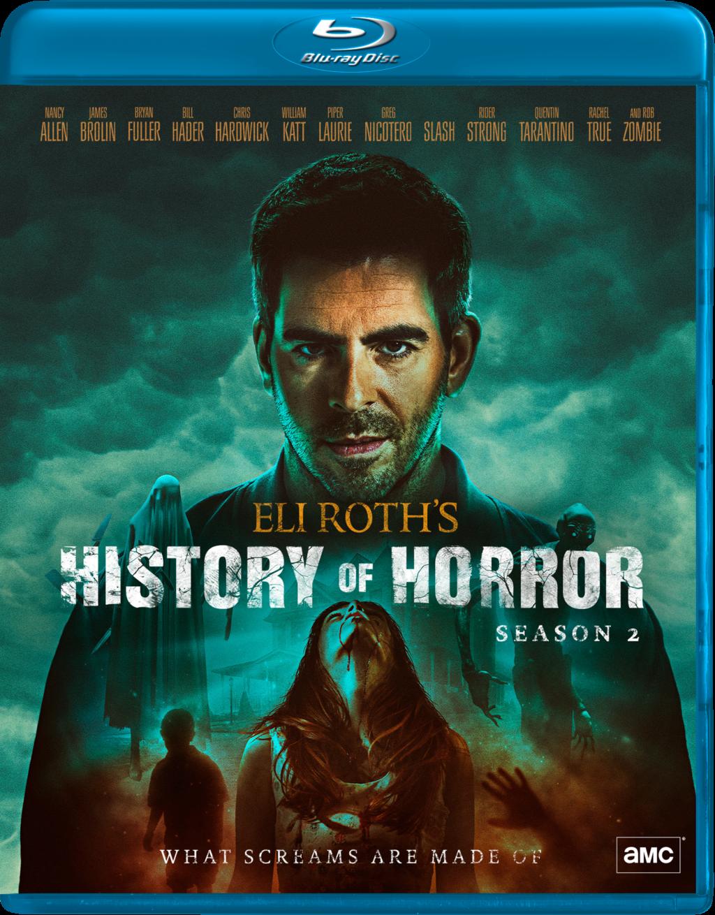 ELI ROTH S2 BD HIC 1024x1310 - Contest: Win a Copy of 'Eli Roth's History of Horror Season 2' on Blu-ray!