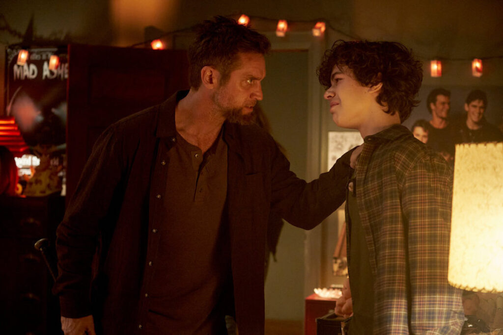 """NUP 194776 2357 1024x683 - """"Good Guy"""" Goes Back to School and Devon Sawa Scowls in New Images from 'Chucky' TV Series"""