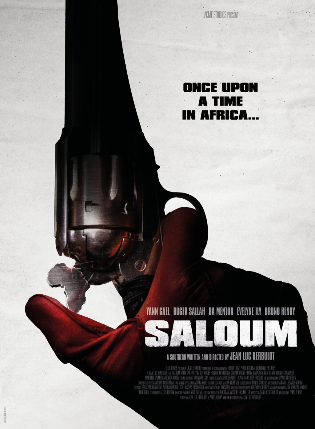 SALOUM TEASER POSTER FINAL Poster by Julien Lemoine 1024x1395 - New Clip and Poster for Jean Luc Herbulot's 'Saloum'