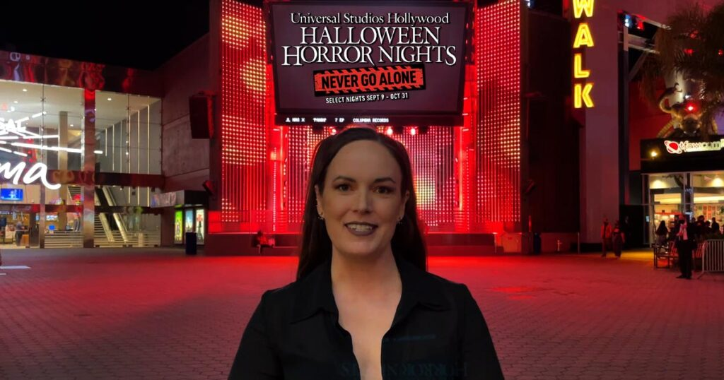 hhn sarah nicklin 1024x538 - Exclusive Video: Dread Central Hits the Opening of 'Halloween Horror Nights' Hollywood