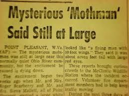 mothman new article 2 - DREAD: The Unsolved Heads to Appalachia to Explain the History of The Mothman