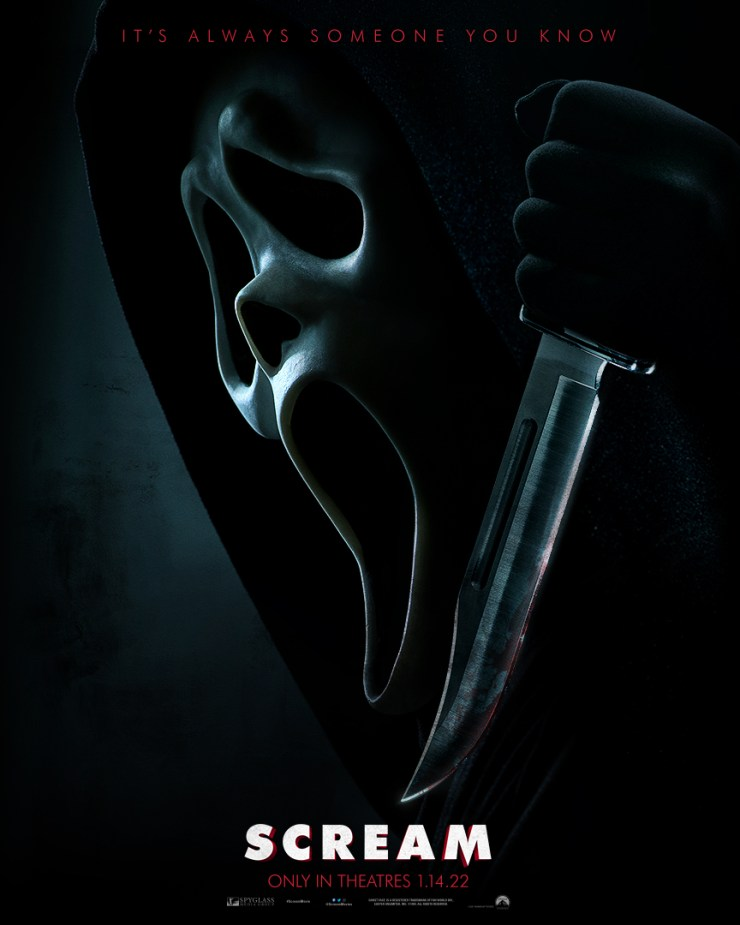 scream poster - 'Scream': First Images From New Movie Have Now Arrived