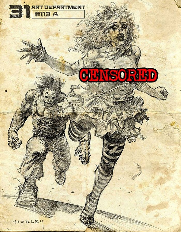 31 new art - Rob Zombie's 31 - More Concept Art Bounces In!