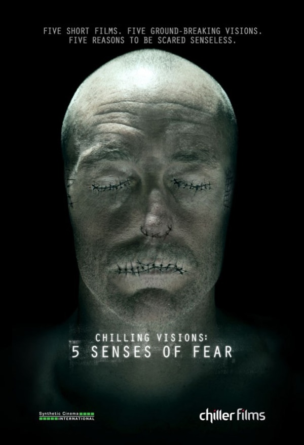 Art, Date, and TV Spot: Chilling Visions: 5 Senses of Fear